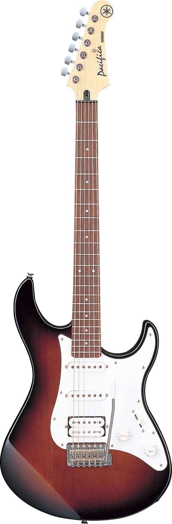 Electric guitar PACIFICA112J màu đỏ tối