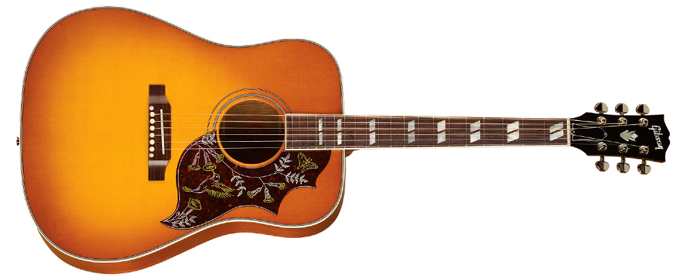 guitar gibson hummingbird
